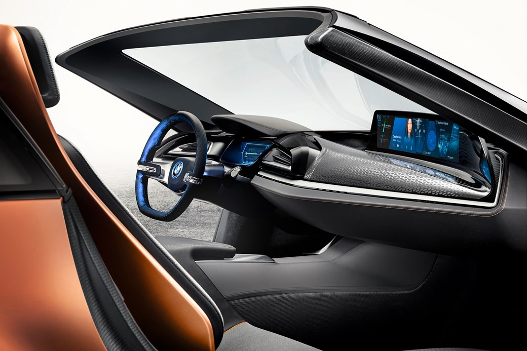 bmw i8 spyder interior. bmw i8 ces 2016 bmw spyder interior l