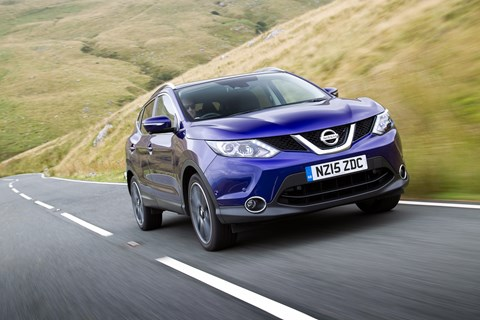 A nation of crossover lovers: the Nissan Qashqai continues to sell well in Britain