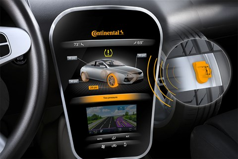 Continental has 38,000 staff in chassis/safety. Next-gen tyre monitoring could be a life-saver