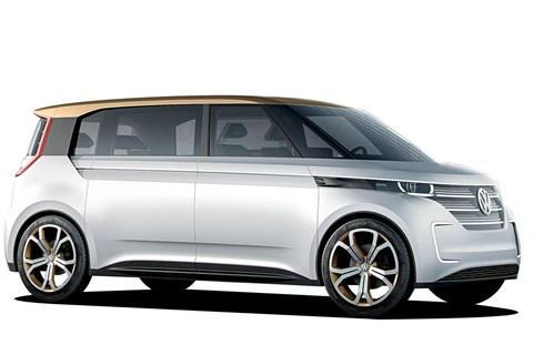 80% charge in 15mins means VW reckons BUDD-e concept is as usable as a regular car. Sorry, van...