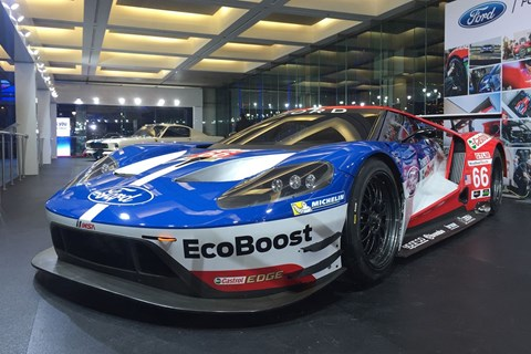 The spirit of Ford's GT40 returns to Le Mans in 2016
