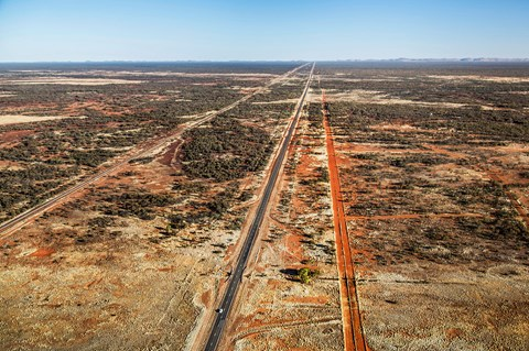 200mph across the Northern Territory. World's easiest pace notes?