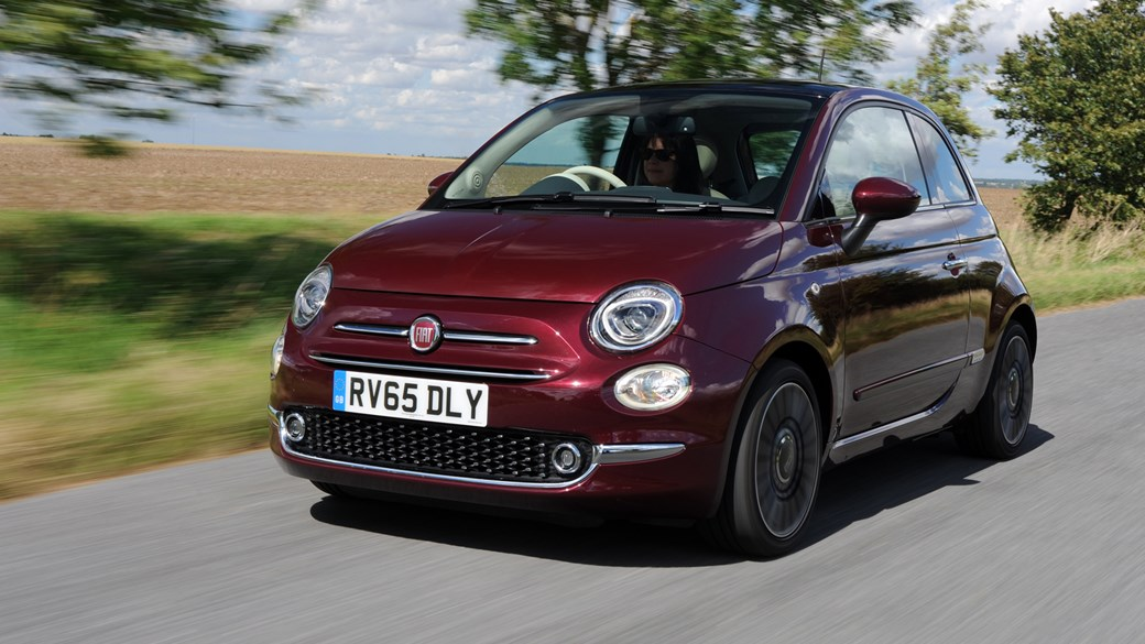 Image Gallery 2016 Fiat 500 Colours