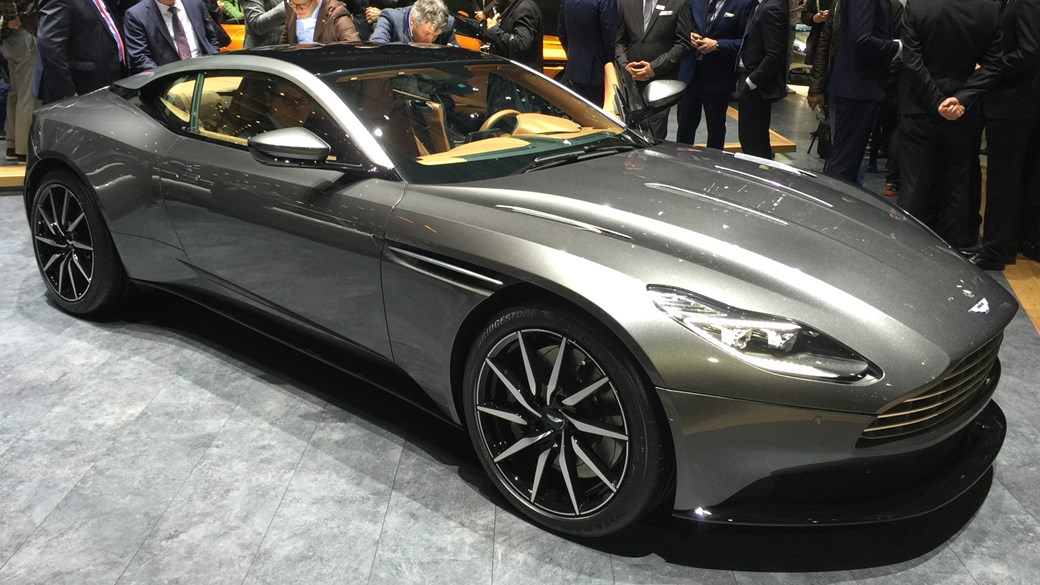 Aston Martin DB11 new 600bhp twinturbo GT officially revealed by