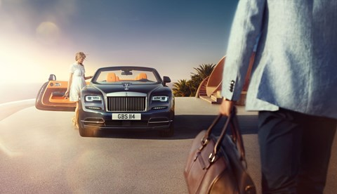 Rolls-Royce Dawn: launching in 2016