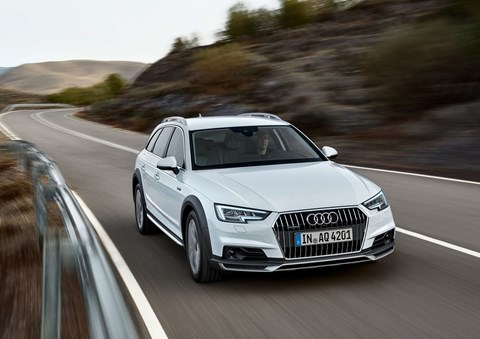 The new 2016 Audi A4 Allroad Quattro