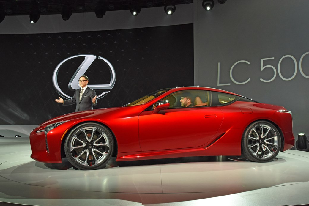 When S It Going To Arrive And How Much Will Cost The Lexus Lc 500