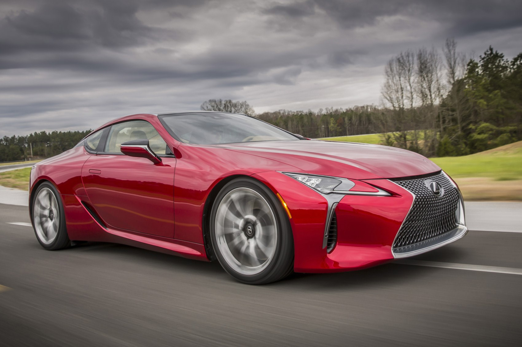 lexus rolls out the big guns new 467bhp lc 500 coupe revealed in detroit car magazine. Black Bedroom Furniture Sets. Home Design Ideas