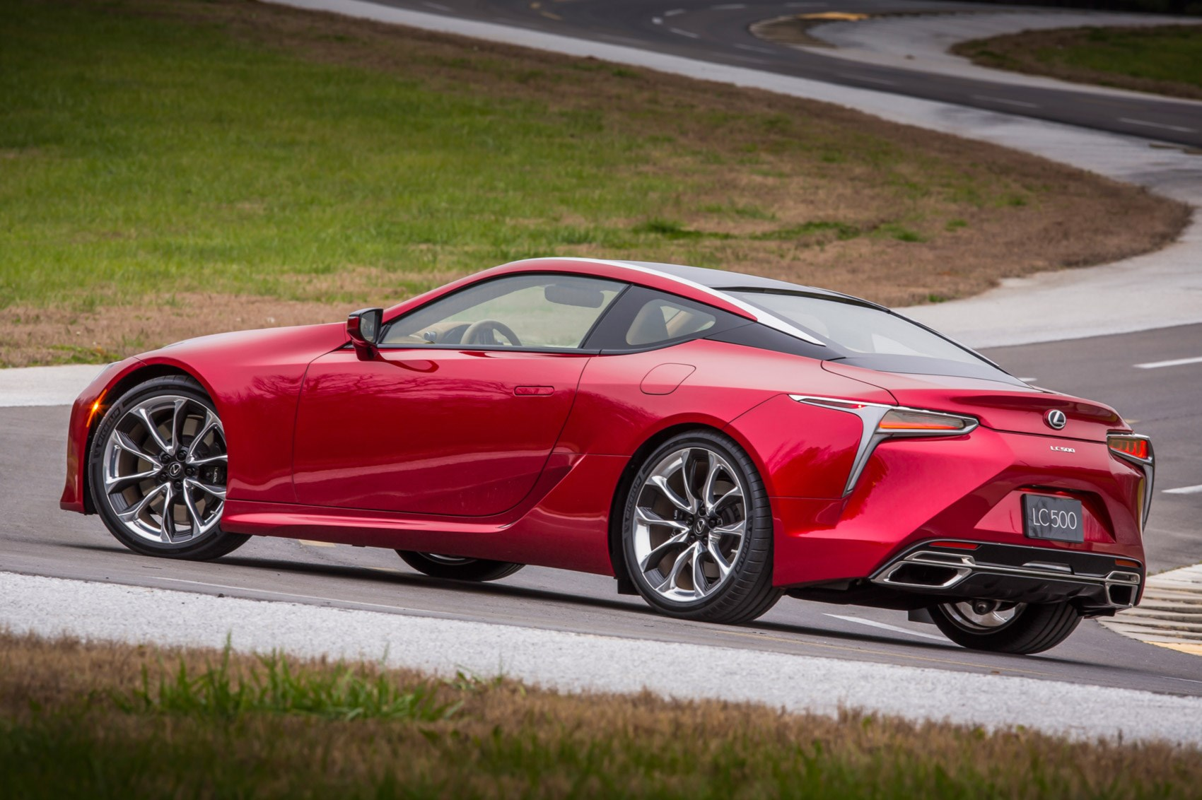 Lexus rolls out the big guns new 467bhp LC 500 coupe revealed in