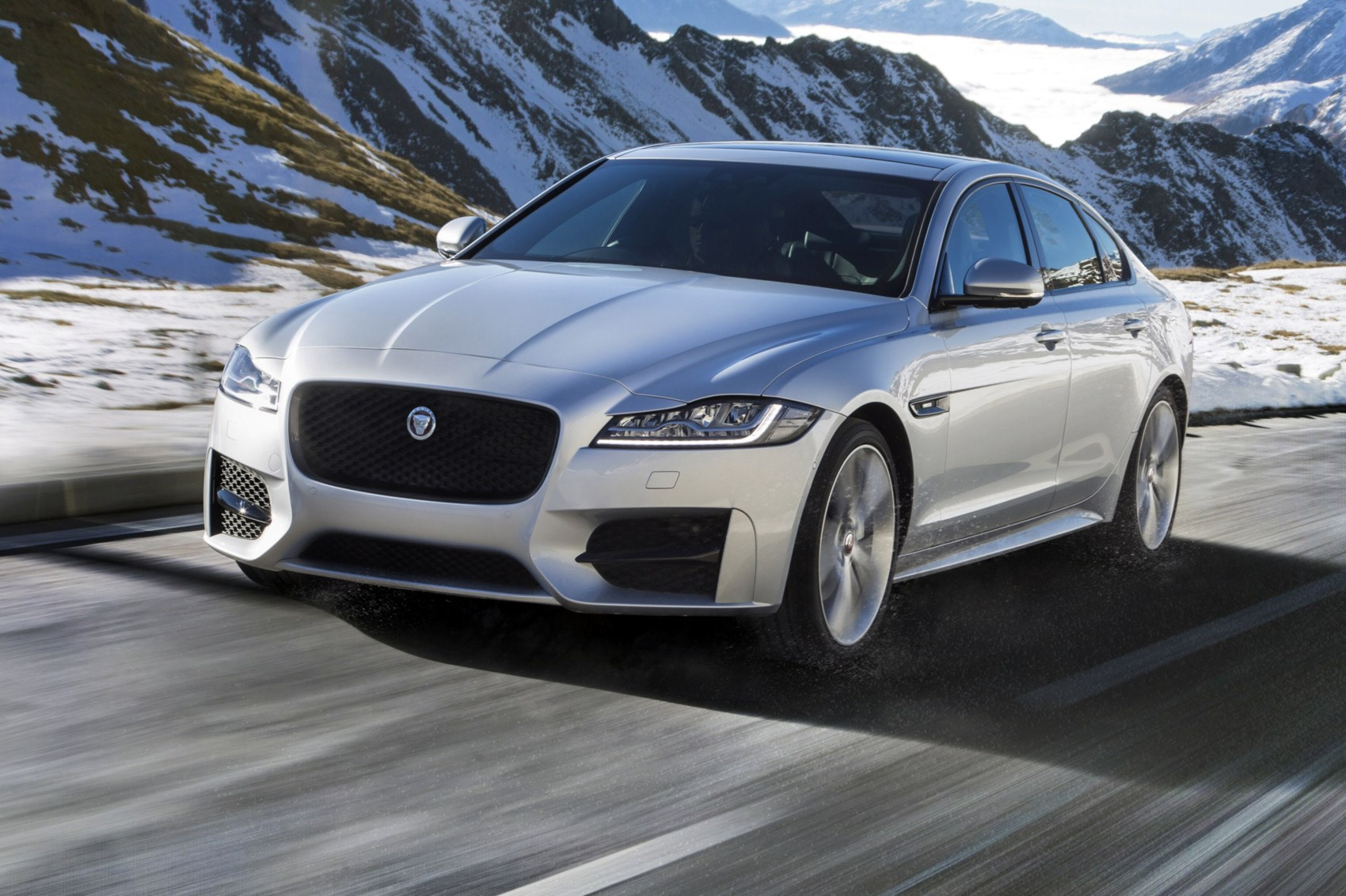Jaguar Gets A Grip With New Allwheeldrive XF By CAR Magazine - All wheel drive jaguar