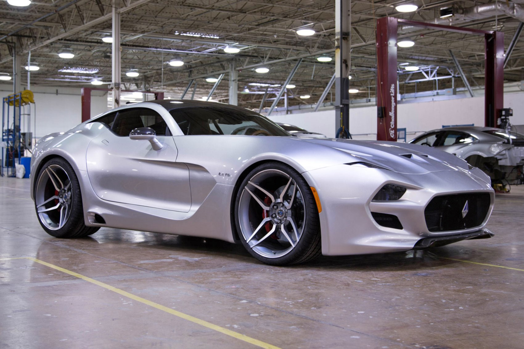 the car aston martin tried to block: fisker's vlf force 1 v10 | car