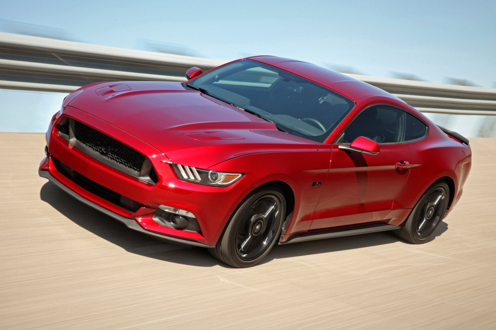 Ford mustang 5 0 v8 gt 2016 review