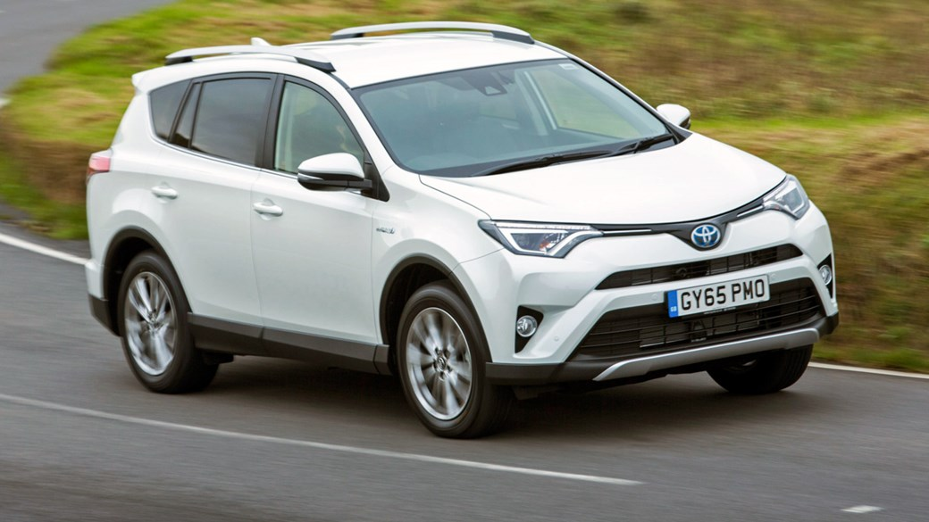 Toyota S Hybrid Rav4 Is Claimed To Average 57 6mpg