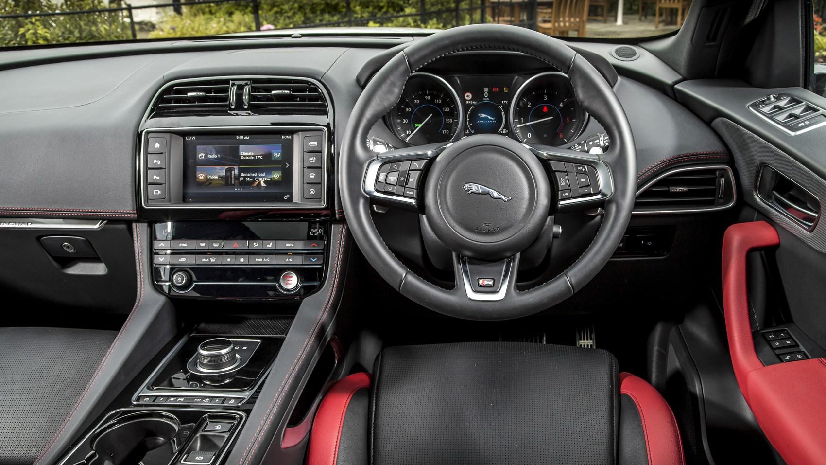 Jaguar F-Pace S interior