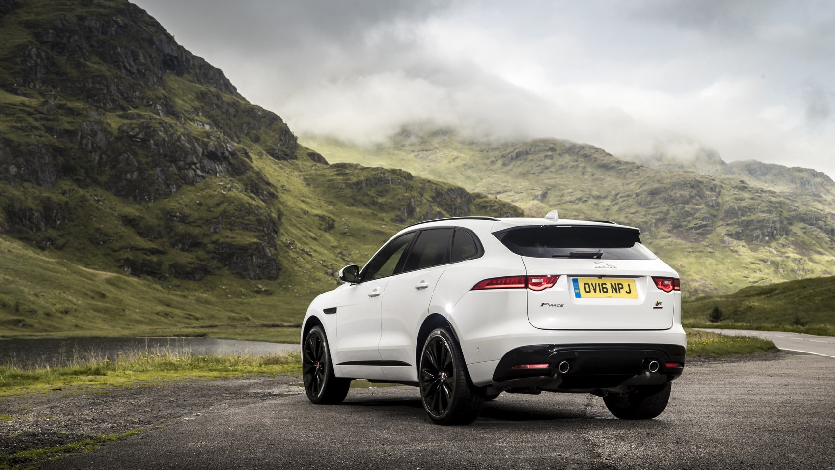 Jaguar F-Pace S rear quarter