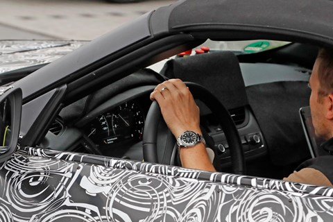 2016 BMW Z5 spyshots