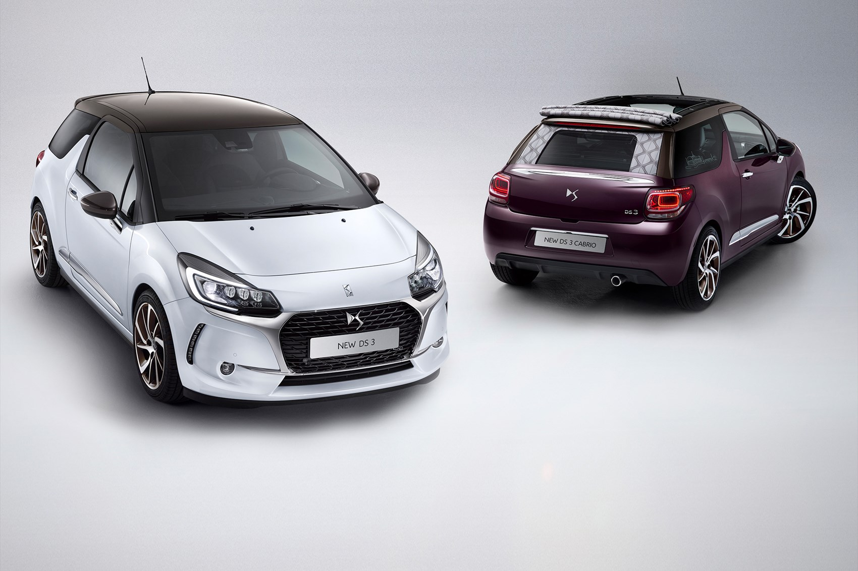 new not a citroen ds3 and ds3 cabrio revealed for 2016 car magazine. Black Bedroom Furniture Sets. Home Design Ideas