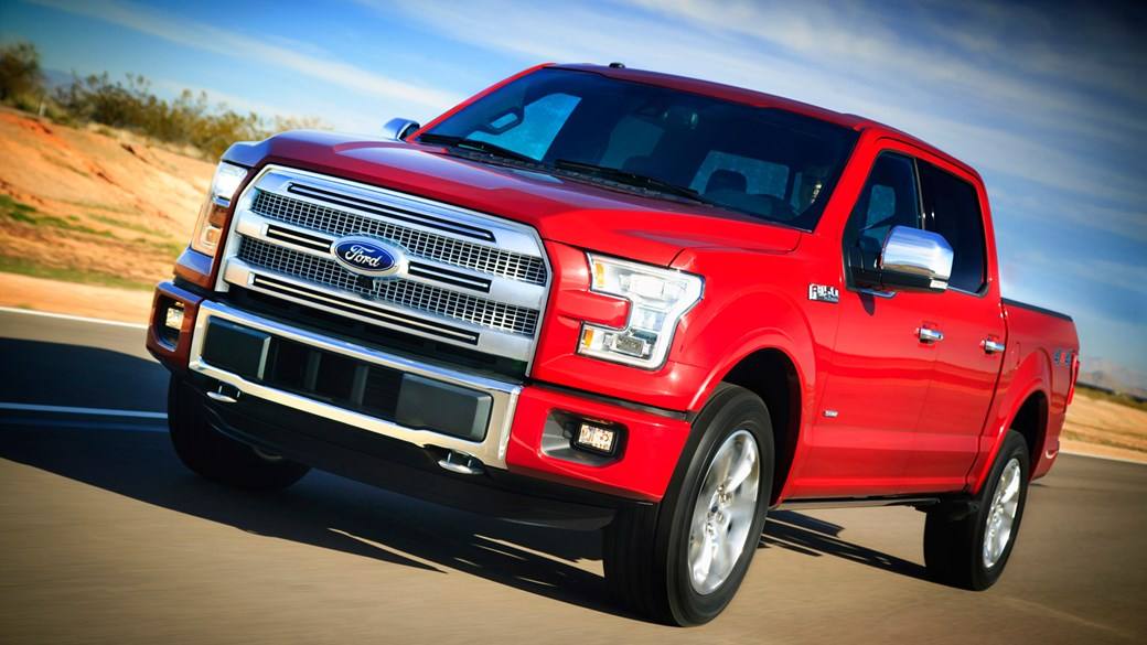 Ford F150 Platinum 4x4 SuperCrew 2016 review by CAR Magazine