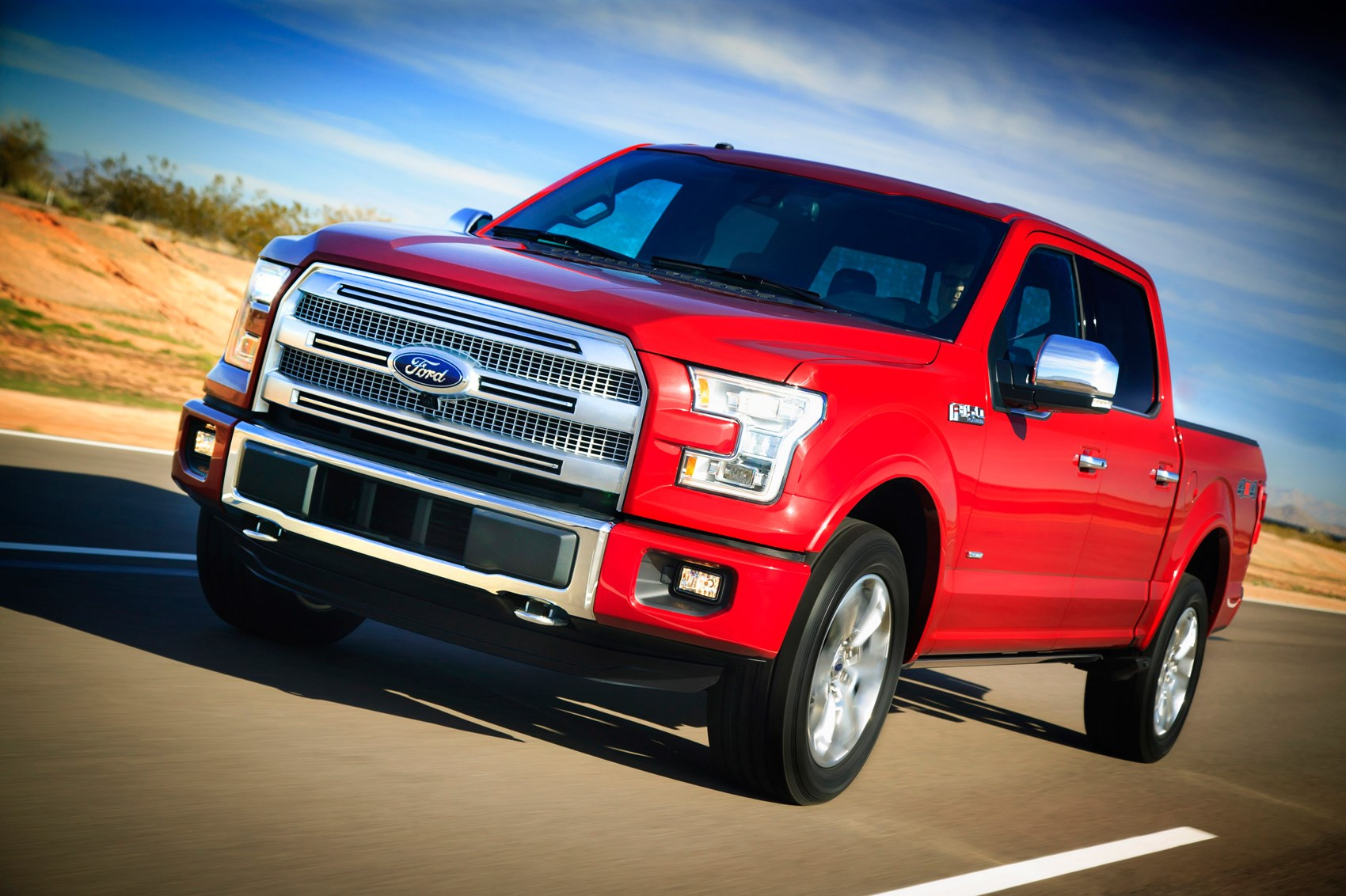 Ford sells an F-series truck every 41 seconds ... & Ford F-150 Platinum 4x4 SuperCrew (2016) review by CAR Magazine markmcfarlin.com