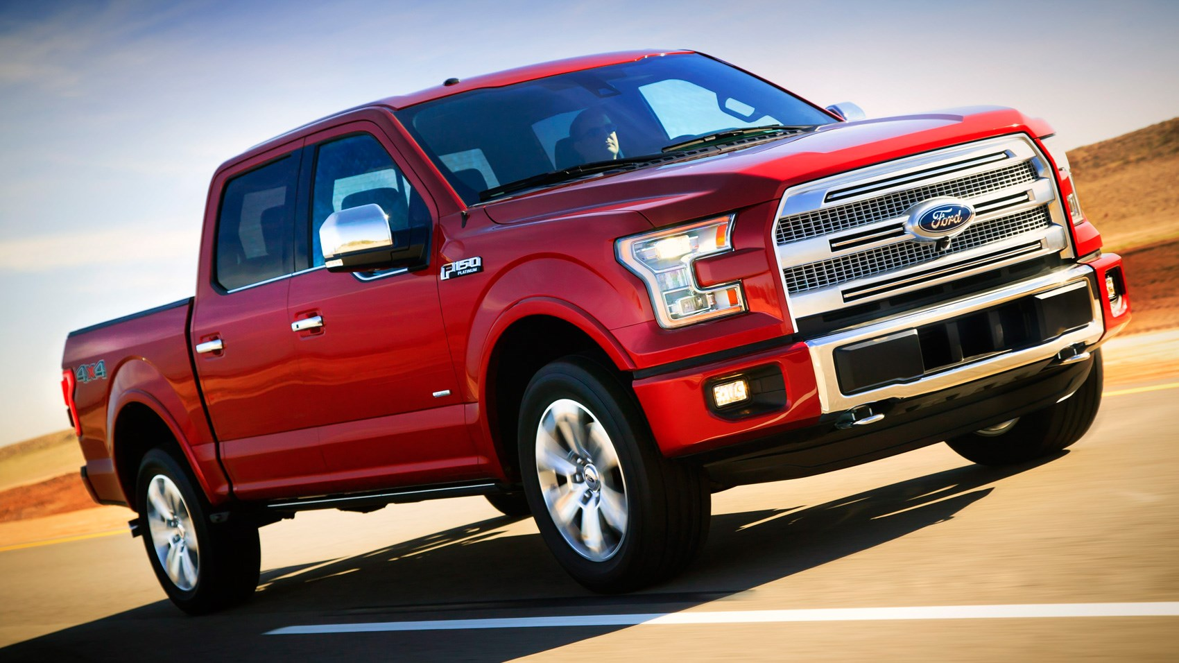 Ford F-150 Platinum 4x4 SuperCrew (2016) review by CAR ...