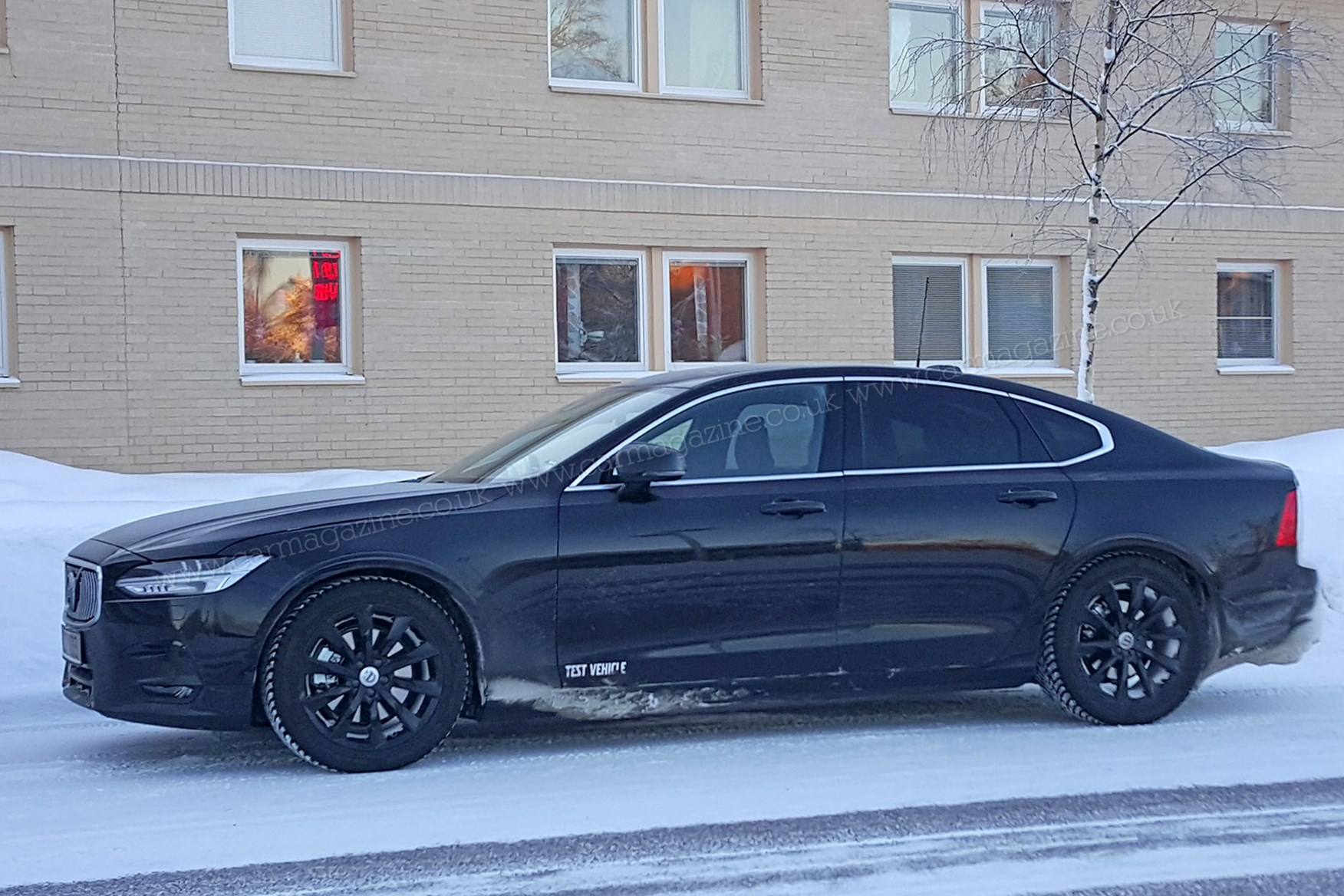 And Scoops/foglights A Telltale New Volvo S90 Takes Over Where Unloved S80  Left Off ...