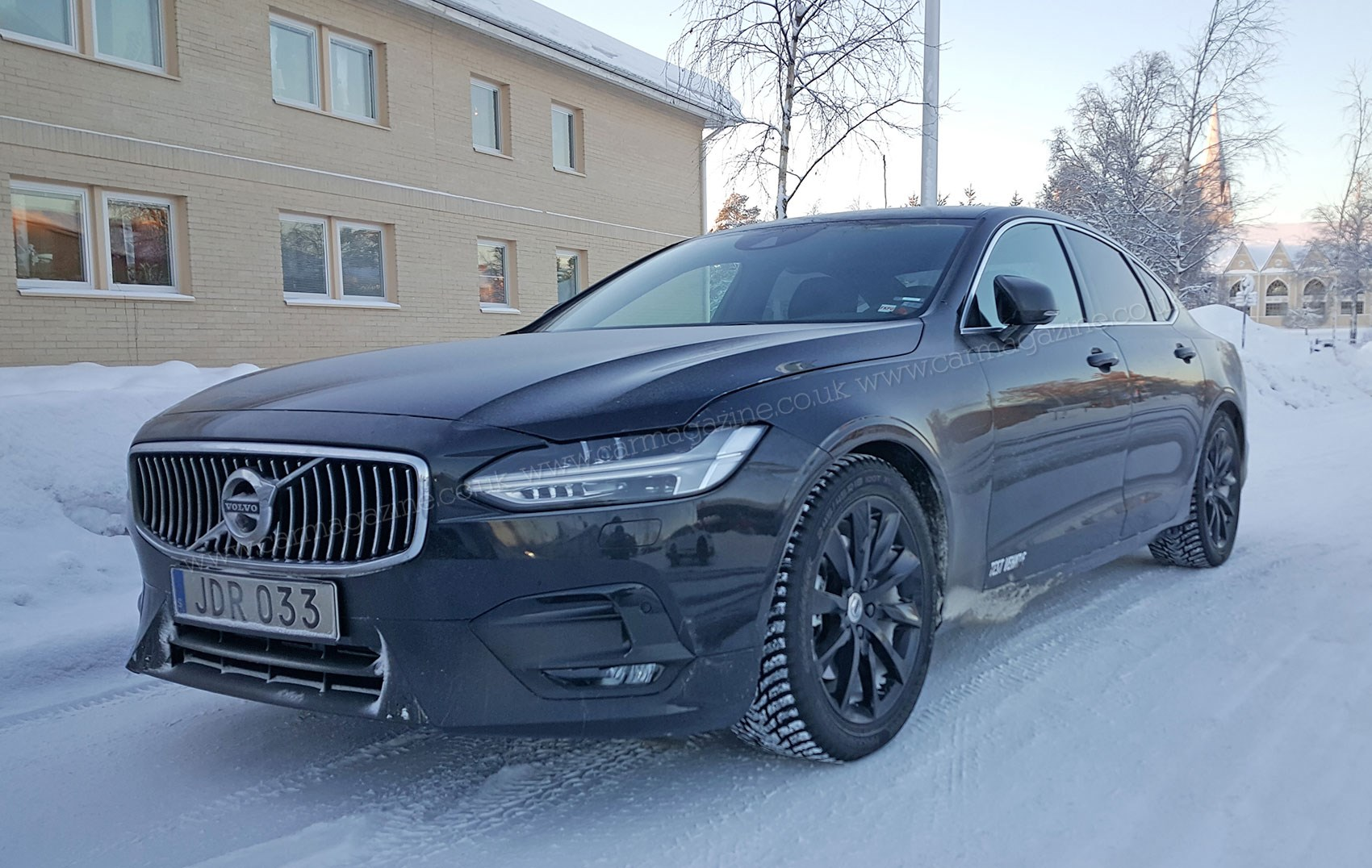 Expect To See The Volvo S90 R Sport Later In 2016