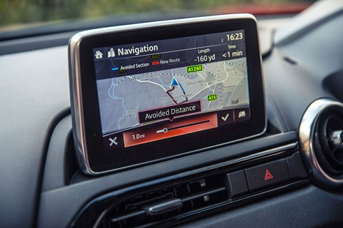 Mazda MX-5 screen