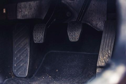 Mazda MX-5 Mk4 pedals
