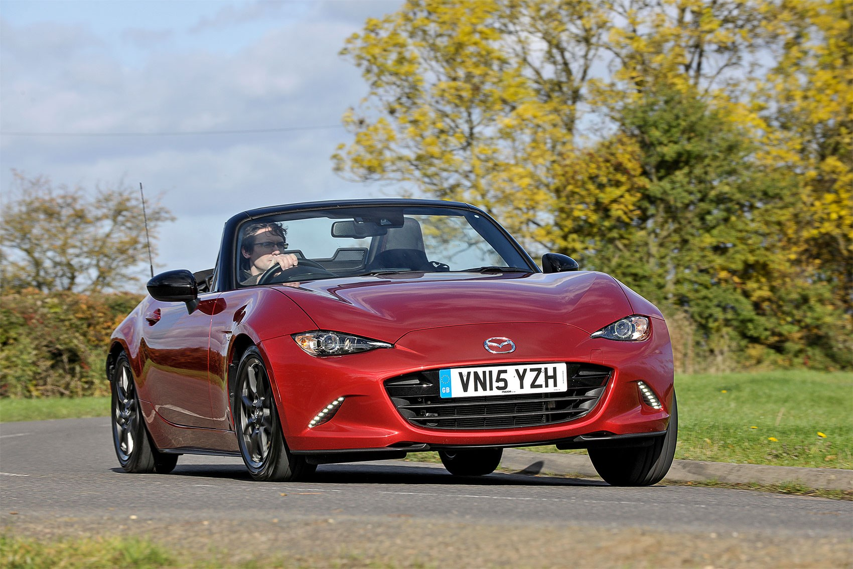 Our Mazda MX-5 doing what it does best