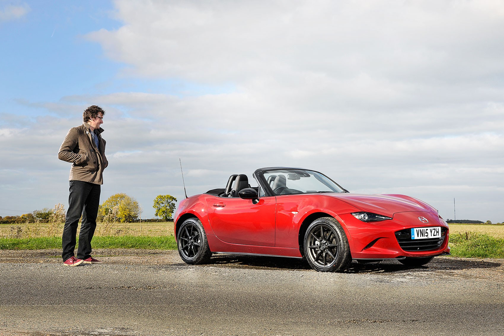 CAR's CJ Hubbard meets our long-term Mazda MX-5. Love is in the air