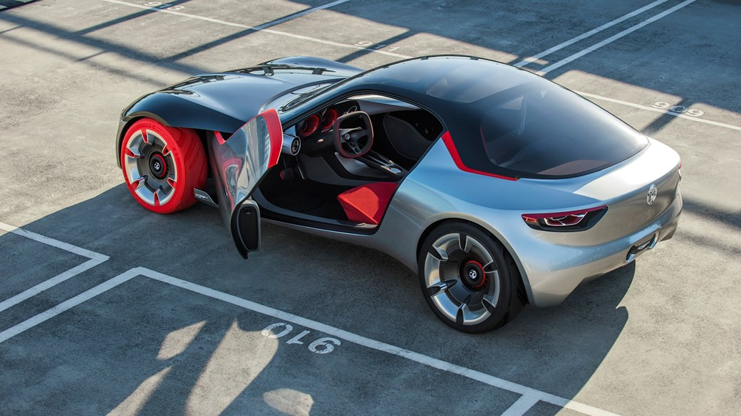 Opel GT Concept Revealed At Geneva Vauxhalls Sports Car - Latest sports car 2016