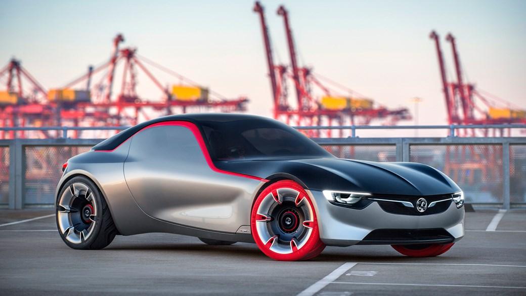 ... Opel GT Concept Revealed At Geneva 2016: Vauxhallu0027s Sports Car Surprise  ...