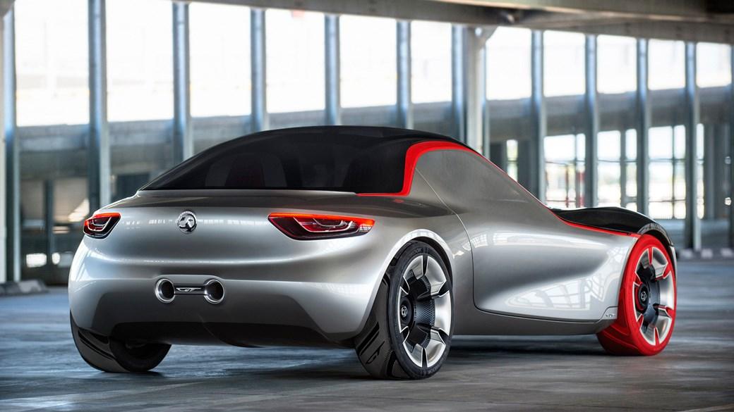 Opel sports car
