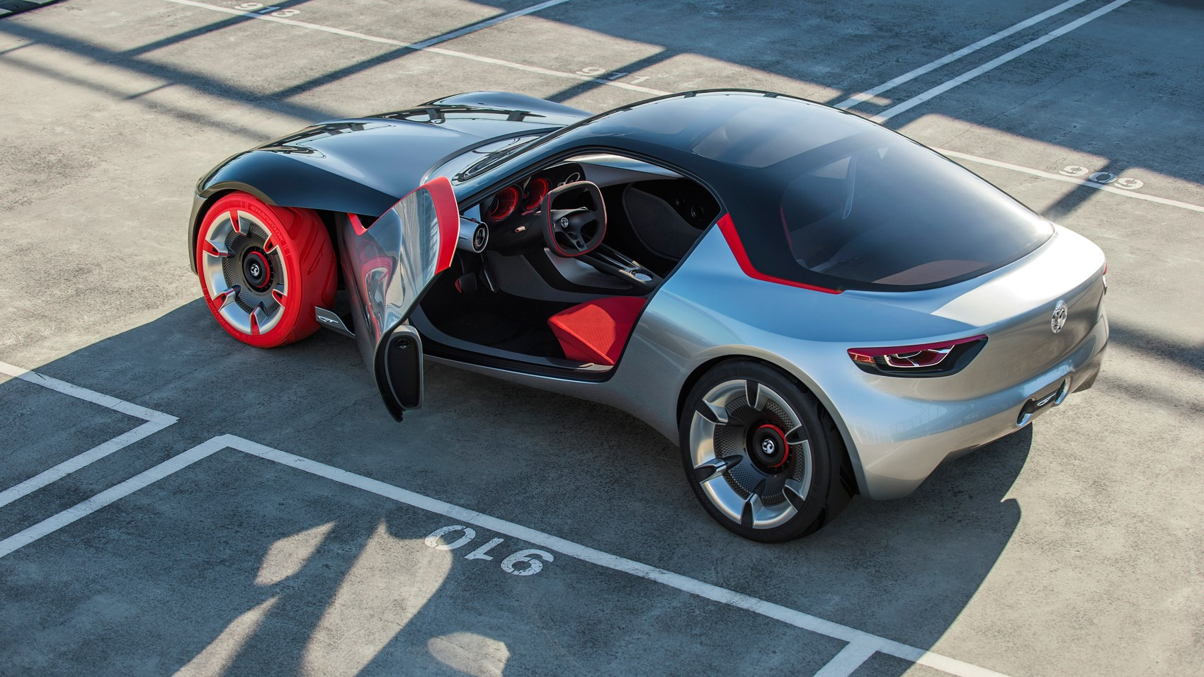 Opel GT Concept Revealed At Geneva Vauxhalls Sports Car - 2016 sports coupe
