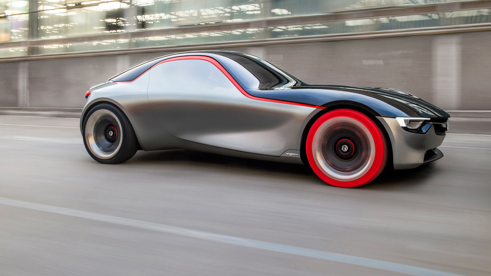 Opel Gt Concept Revealed At Geneva 2016 Vauxhall S Sports