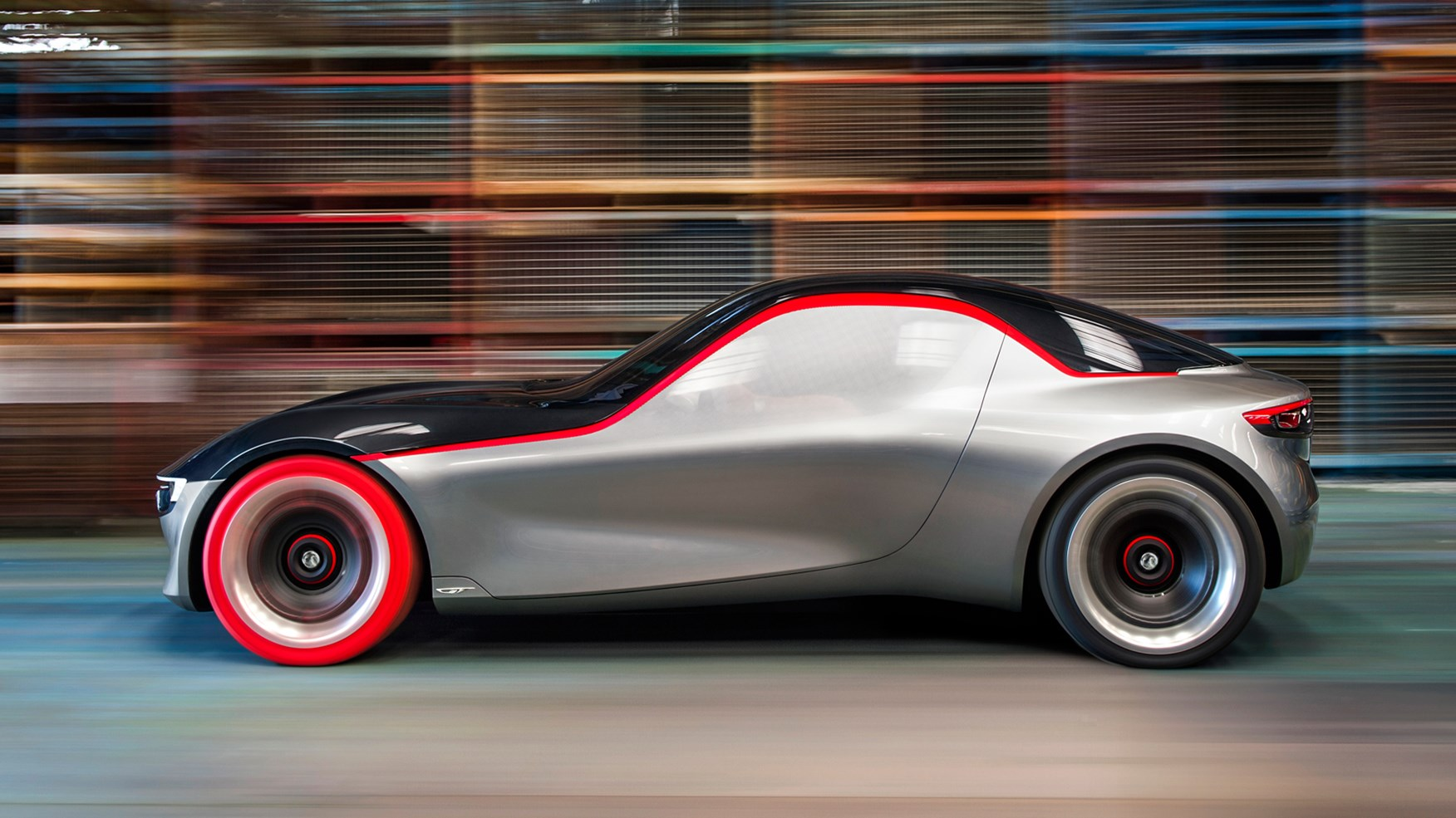 Opel Gt Concept Revealed At Geneva 2016 Vauxhall S Sports Car