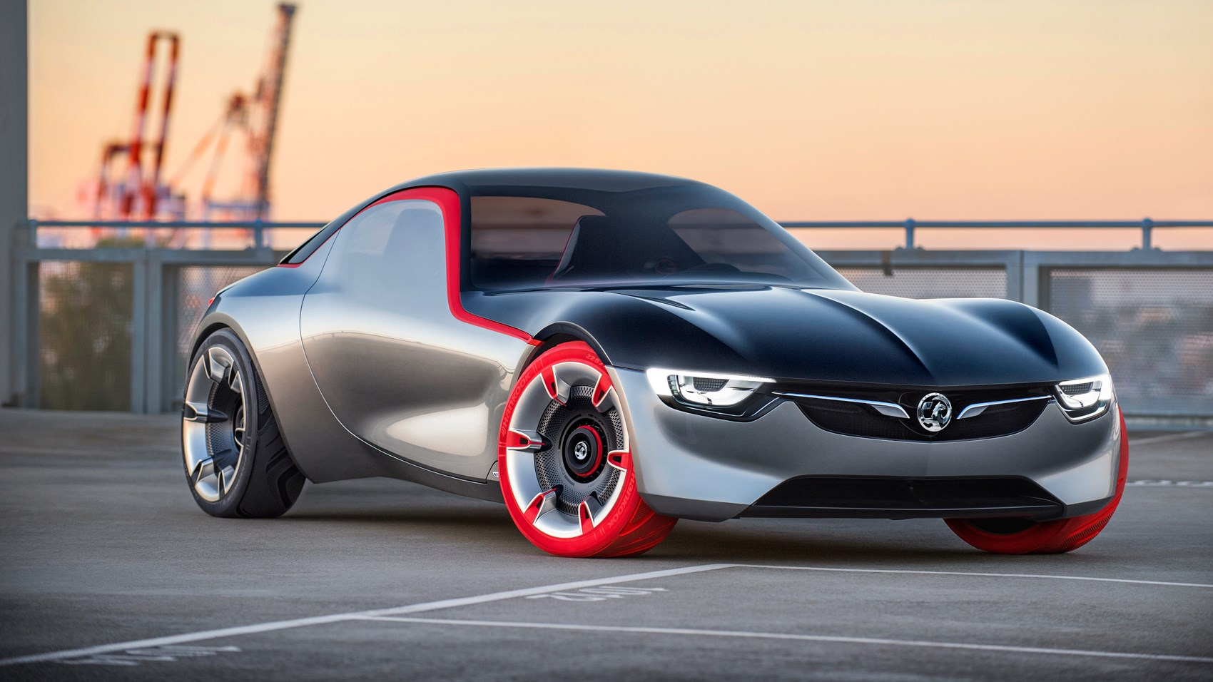 Opel Gt Concept Revealed At Geneva 2016 Vauxhall S Sports Car Surprise