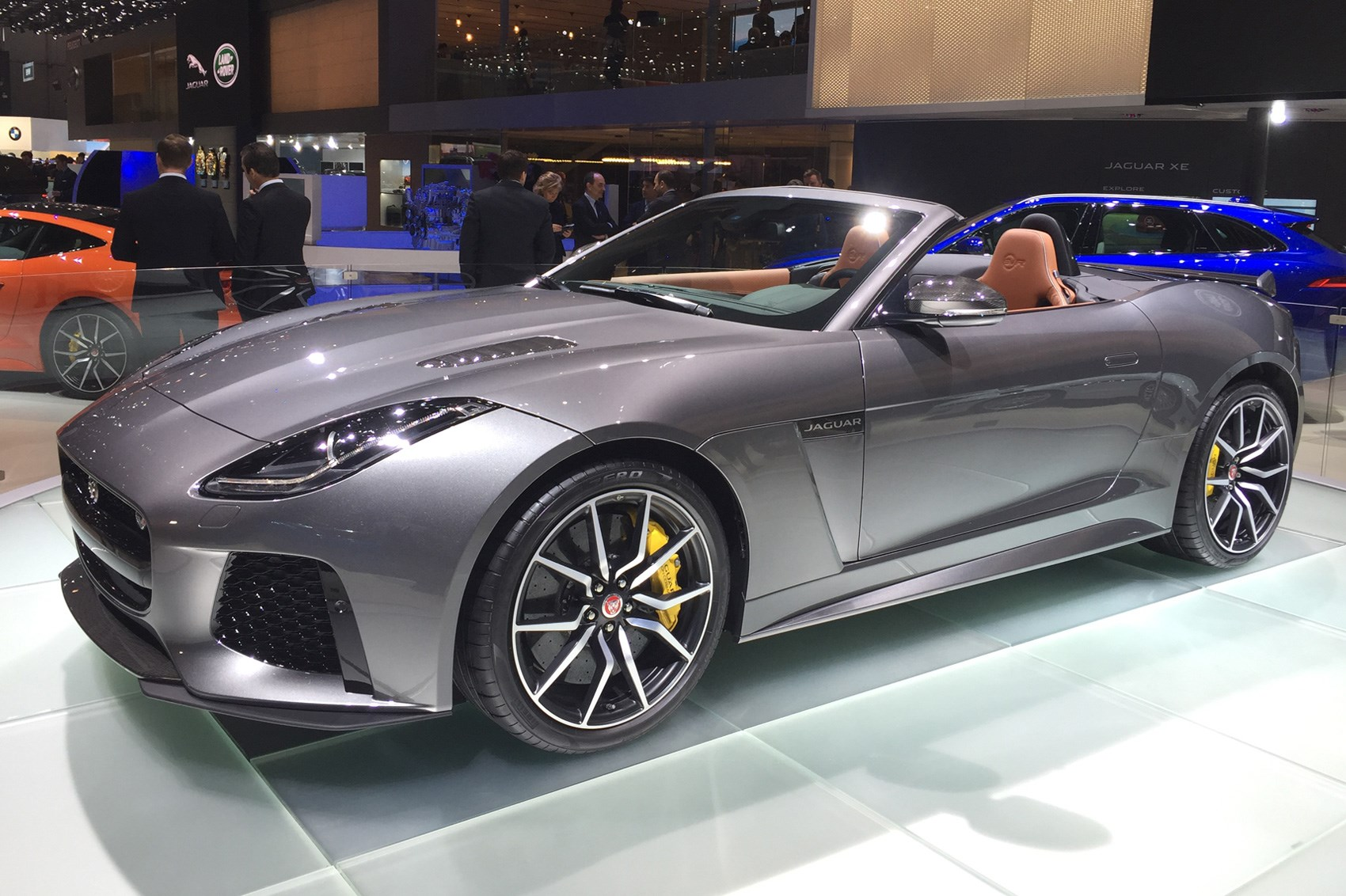 jaguar f type svr confirmed for 2016 geneva motor show by car magazine. Black Bedroom Furniture Sets. Home Design Ideas