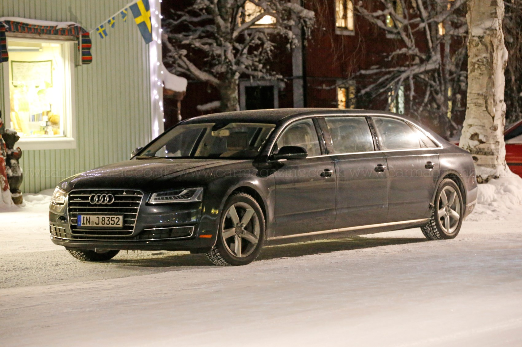 And Stretch Mystery Six Door Audi A8 Limo Spotted In Sweden By Car Magazine