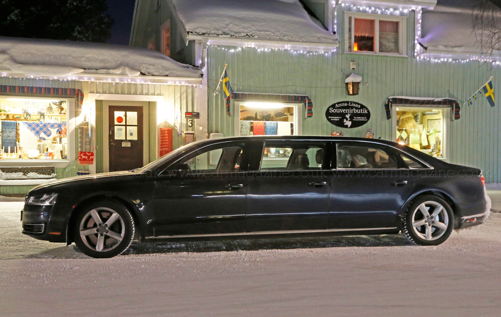 There\u0027s always been a long-wheelbase A8 variant but this is just ridiculous & And stretch\u2026 Mystery six-door Audi A8 limo spotted in Sweden by ...