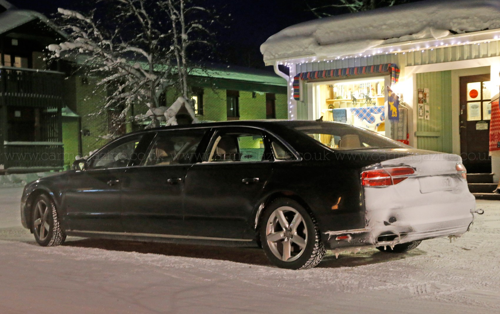 And Stretch Mystery Six Door Audi A8 Limo Spotted In