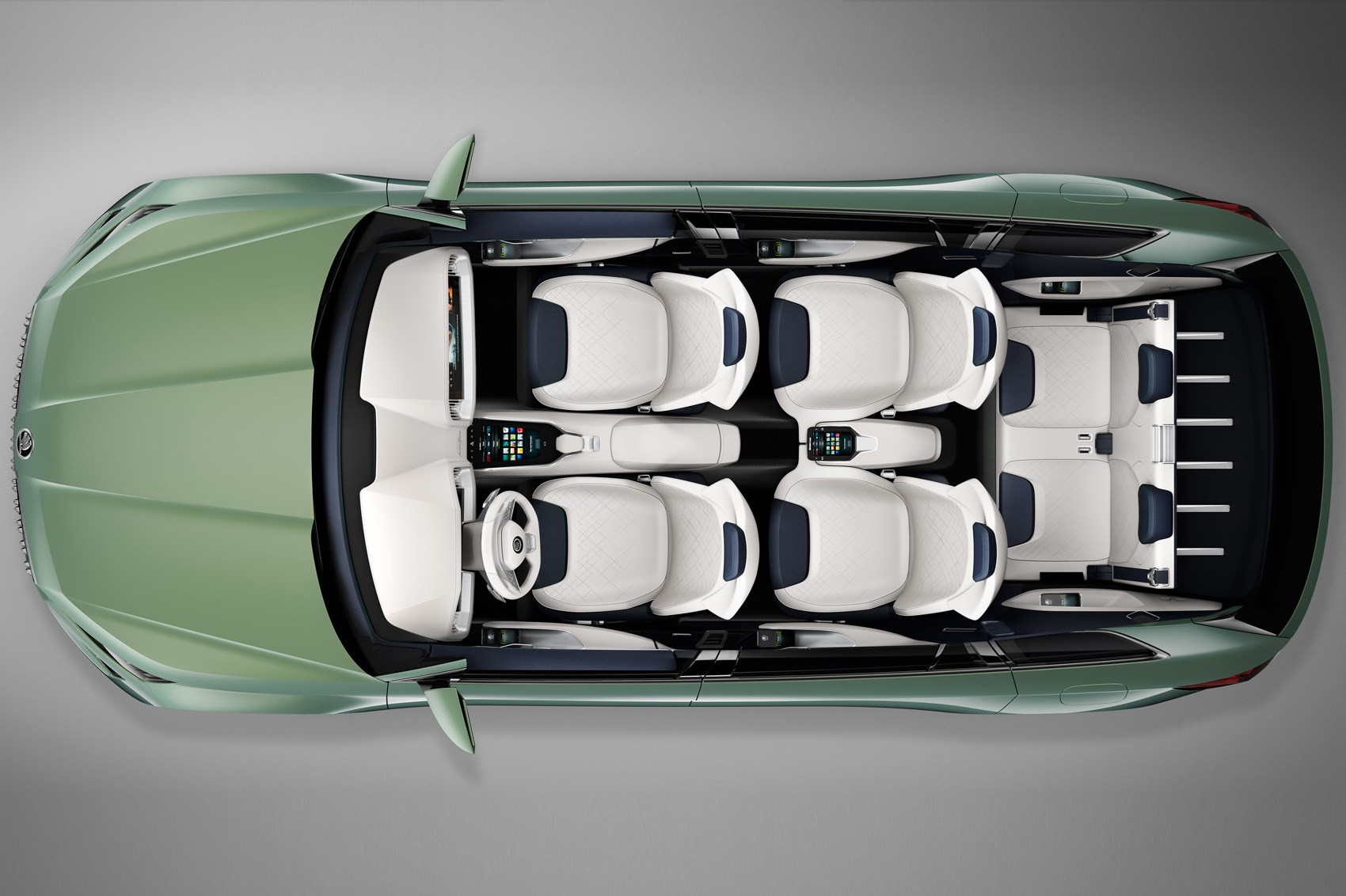 Czech This Out Six Seat Skoda Vision S Concept Unveiled Car Magazine