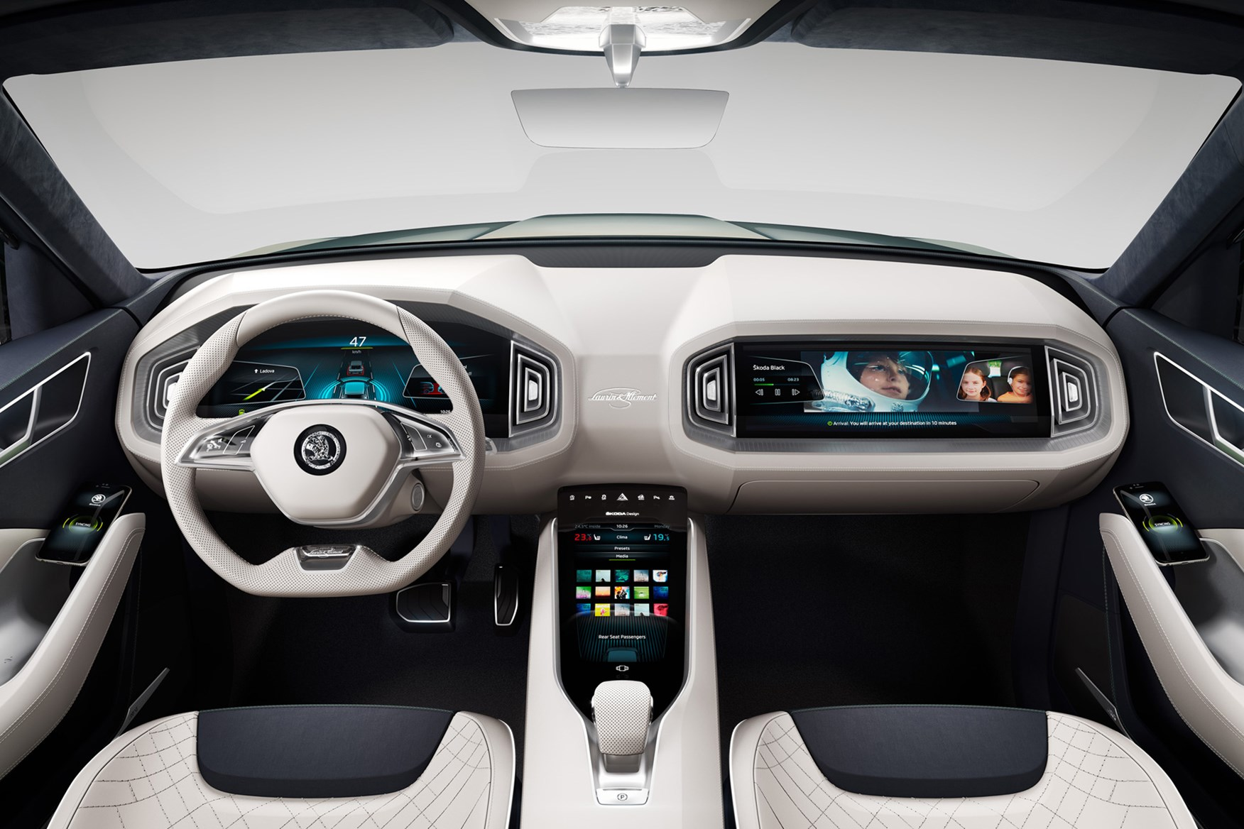 škoda vision d concept car 2013