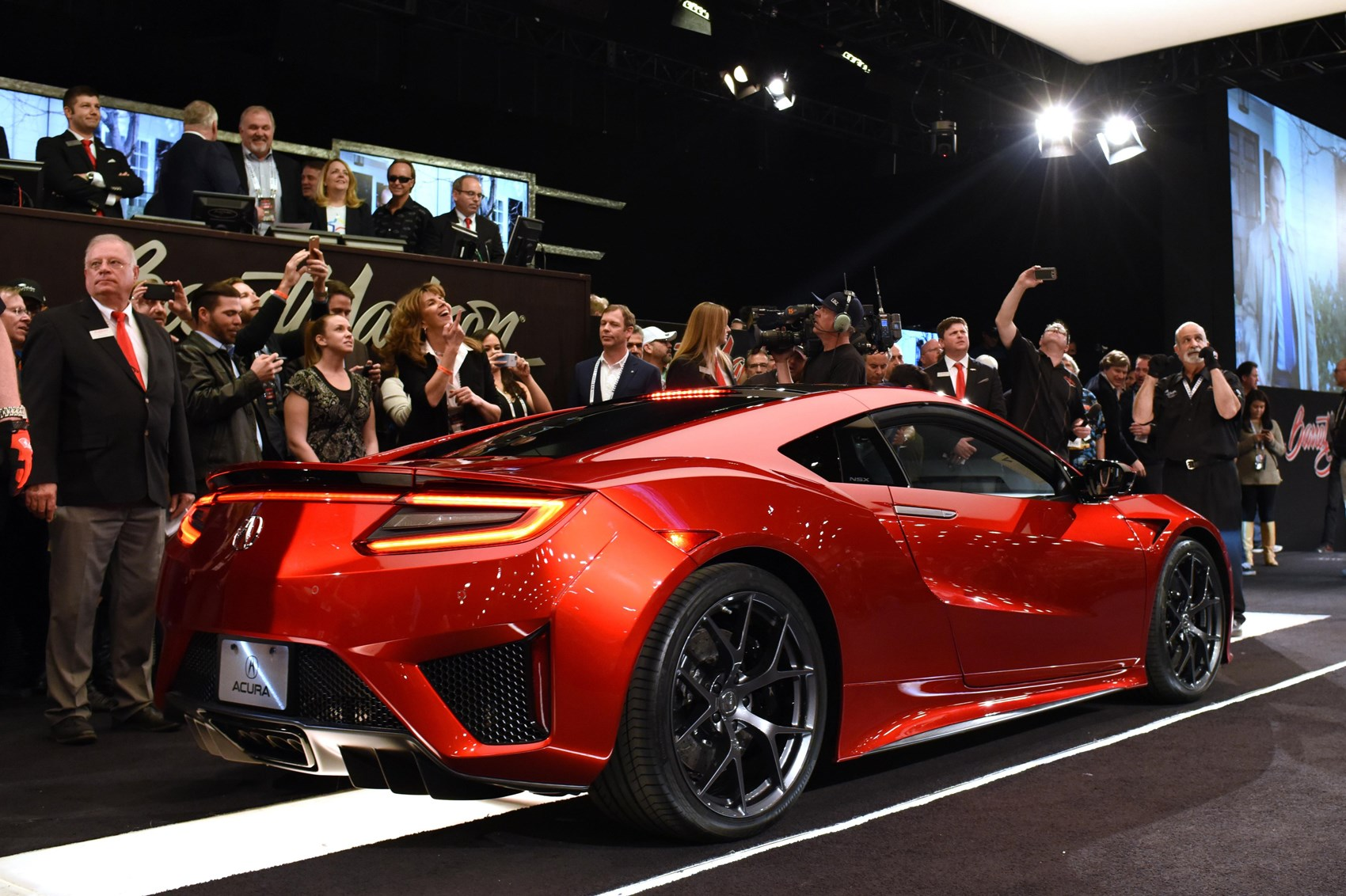 First production 2016 Honda NSX sells for 12m by CAR Magazine