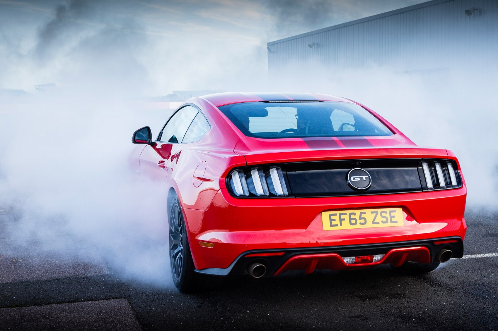 ... Ford Mustang 2016 line lock