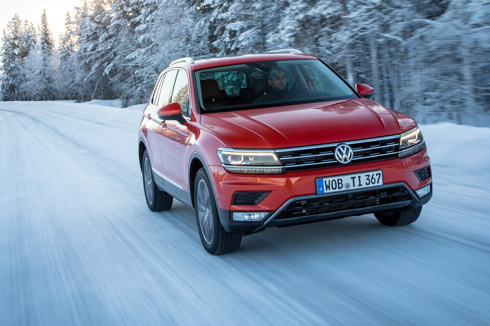 Ice to meet you: first off-road drive in the new 2016 VW Tiguan