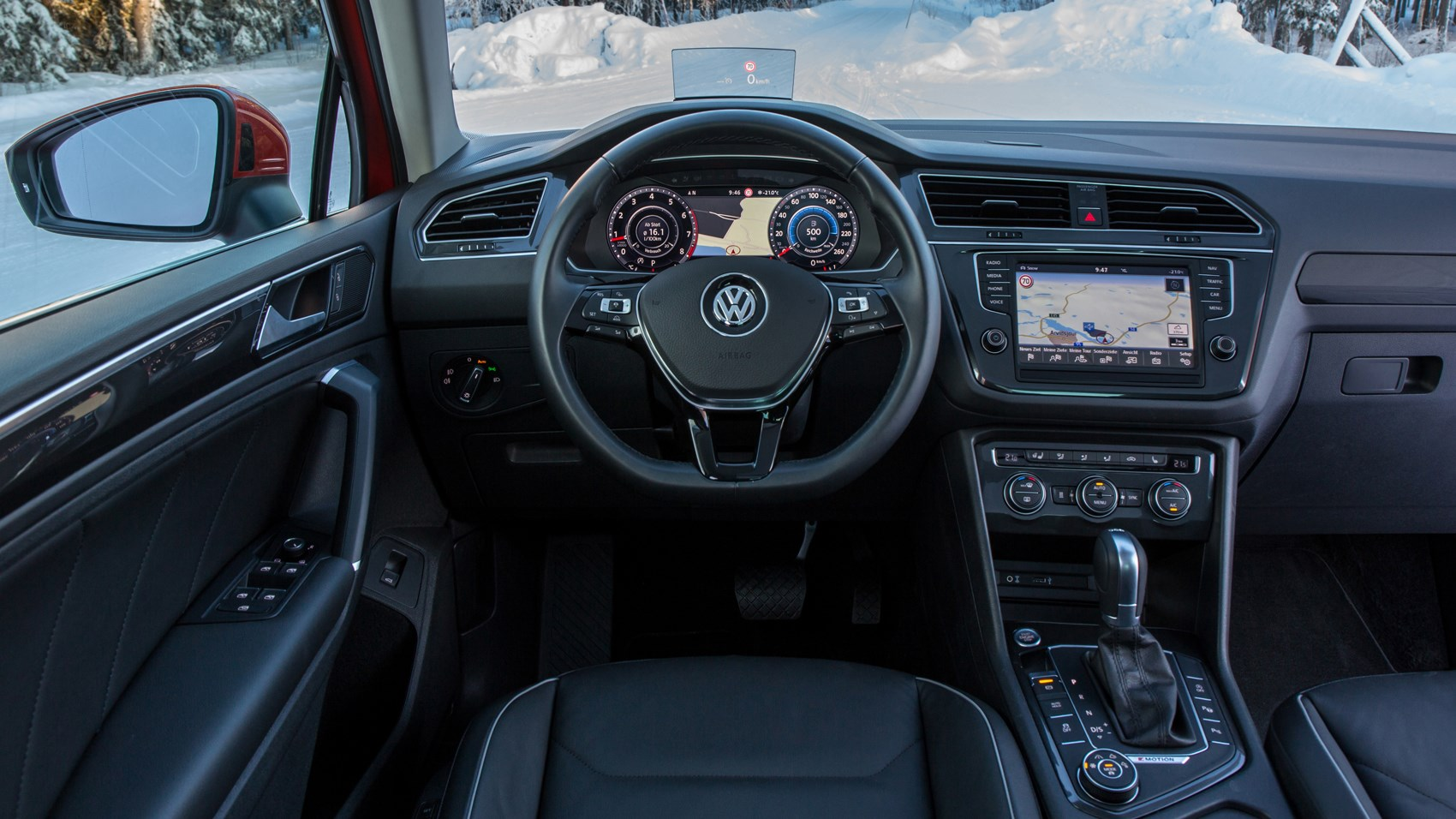 ice to meet you first off road drive in the new 2016 vw. Black Bedroom Furniture Sets. Home Design Ideas