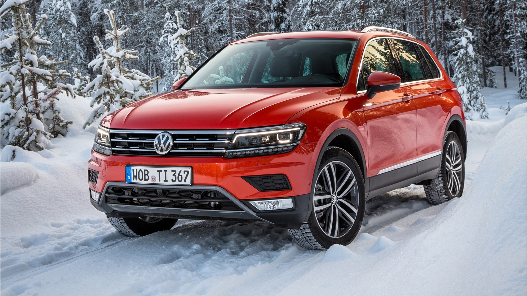 ice to meet you first off road drive in the new 2016 vw tiguan