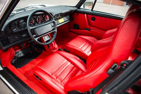 Porsche 911 interior - they don't make 'em like this anymore