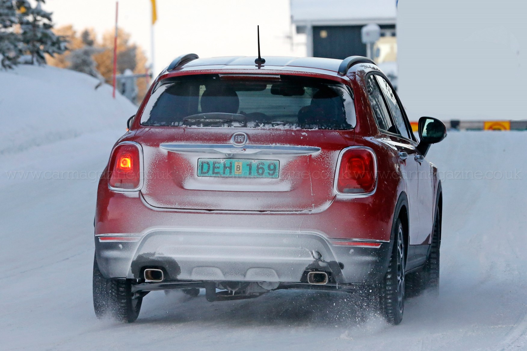 Fiat 500X Abarth (2018): is Fiat readying a hot hatch crossover? by CAR Magazine